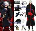 Anime Naruto Cosplay - Apparel Naruto Akatsuki Costume Set Akasuna no Sasori bundle Big Promotional Package Free Shipping