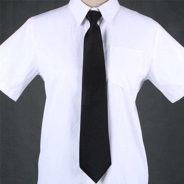 Bekleidung Zubehör Mode Jk Schule Jungen Dünne Schmale Krawatte Gravata Lässig Pfeil Dünne Hochzeit Fest Farbe Elastischen Krawatte Krawatte BüGeln Nicht
