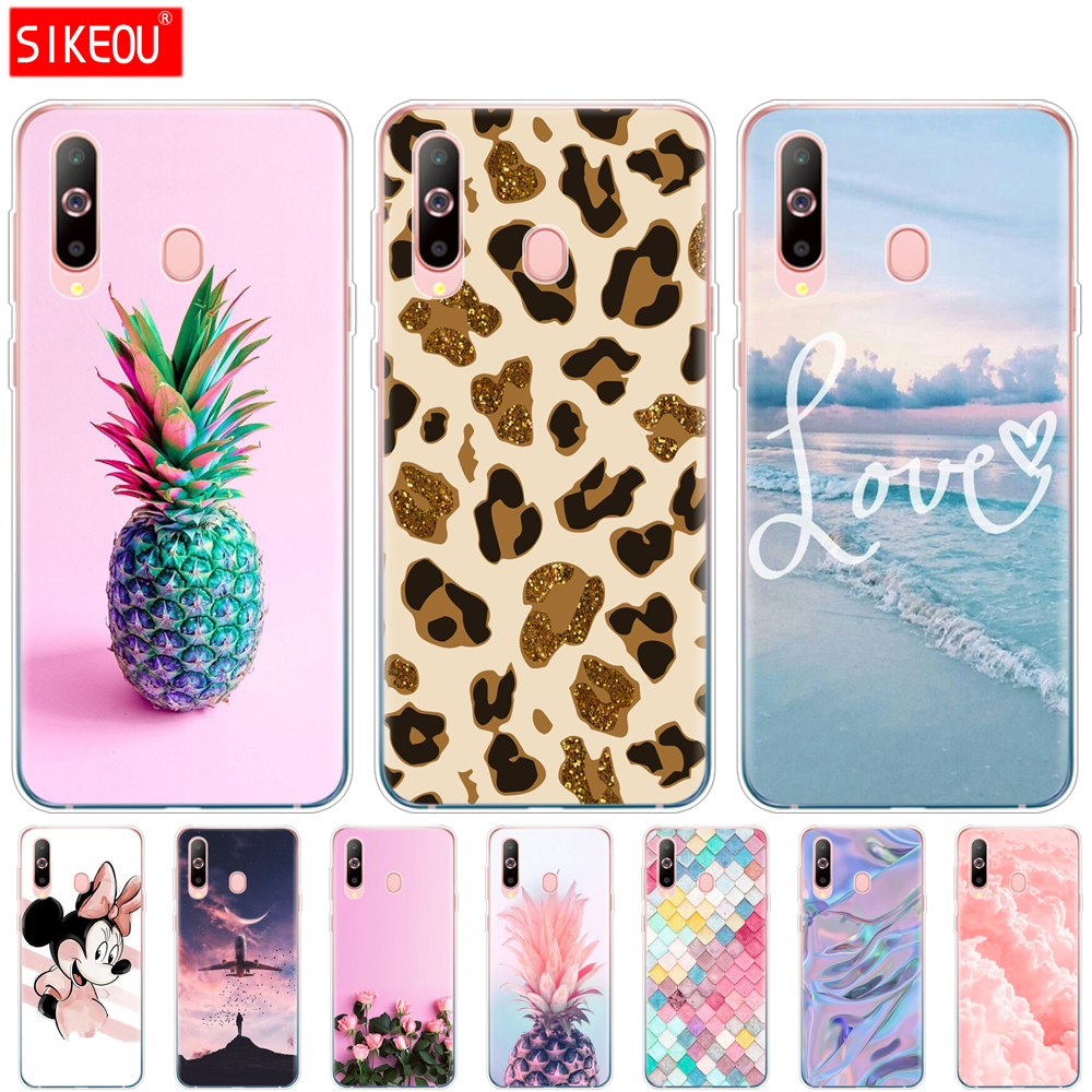 Case For <font><b>Samsung</b></font> <font><b>A60</b></font> Case Soft Silicon Back Cover Phone Case For <font><b>Samsung</b></font> <font><b>Galaxy</b></font> <font><b>A60</b></font> GalaxyA60 A 60 <font><b>SM</b></font>-<font><b>A6060</b></font> Cartoon image