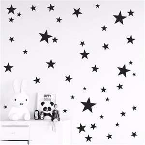 YanTin 45/24pcs Wall Stickers For Kids Rooms Wall Decals