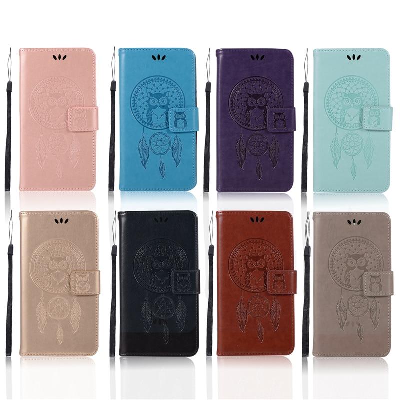 Embossed Wallet Case For ZTE Prestige N9132 PU leather Owl Flip Cover Case For ZTE Prestige N9132 Case Phone Capa