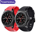 Lemfo LF16 Android 5.1 OS Smart watch MTK6580 512 МБ + 8 ГБ smartwatch поддержка nano Sim-карты Wi-Fi GPS Для Android IOS Samsung телефон