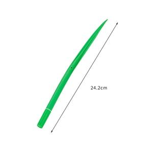 Image 5 - 100 Pcs Creative Small Fresh Simulation Grass Gel Pen Cute Student Soft Quality Office Signature Pen Kawaii School Supplies