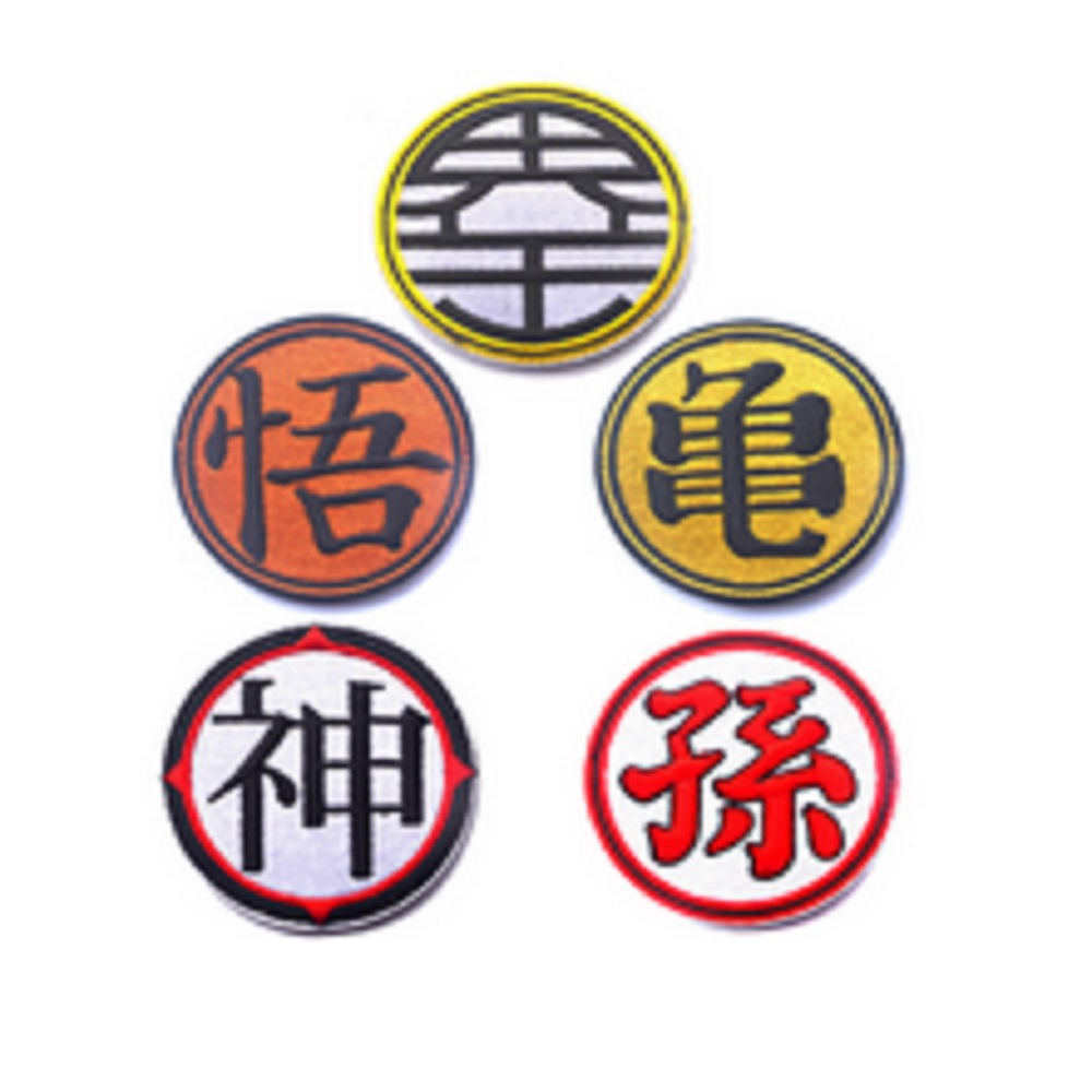 10pcslot Embroidery Armband Loop And Hook Seven Dragon Ball