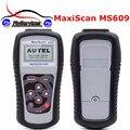 2017 Высокое Качество MaxiScan MS609 OBDII/EOBD Scan Tool + ABS MS 609 Авто Code Reader Быстрая Доставка