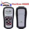 2017 High Quality MaxiScan MS609 OBDII/EOBD Scan Tool + ABS MS 609 Auto Code Reader Fast Shipping
