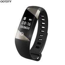 X21 OLED сердечного ритма Мониторы шаг счетчик секундомер Bluetooth Smart Браслет # L060 # Новый горячий