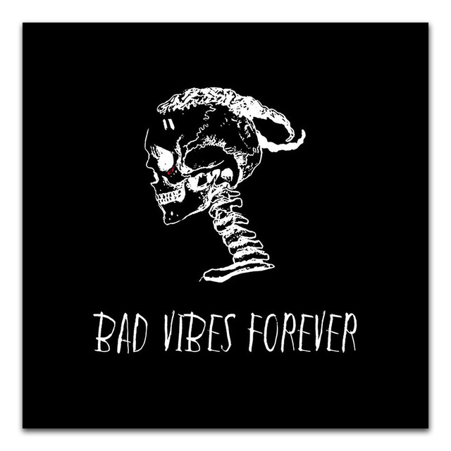 ee4f0267ee TX035 XXXTentacion Bad Vibes Forever 2018 Rapper Music Album 24x24