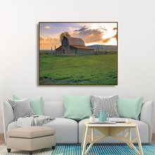 Laeacco Canvas Calligraphy Painting Vintage Barn in Rural Wyoming USA Posters and Prints Wall Art Pictures for Living Room Decor oyuntuya shagdarsuren tackling isolation in rural mongolia