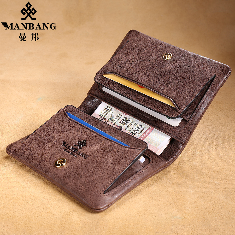 a09e52626841 Manbang 2017 Designer leather card holder for men high quality passport  credit card case MBK1079-in Card & ID Holders from Luggage & Bags on  Aliexpress.com ...