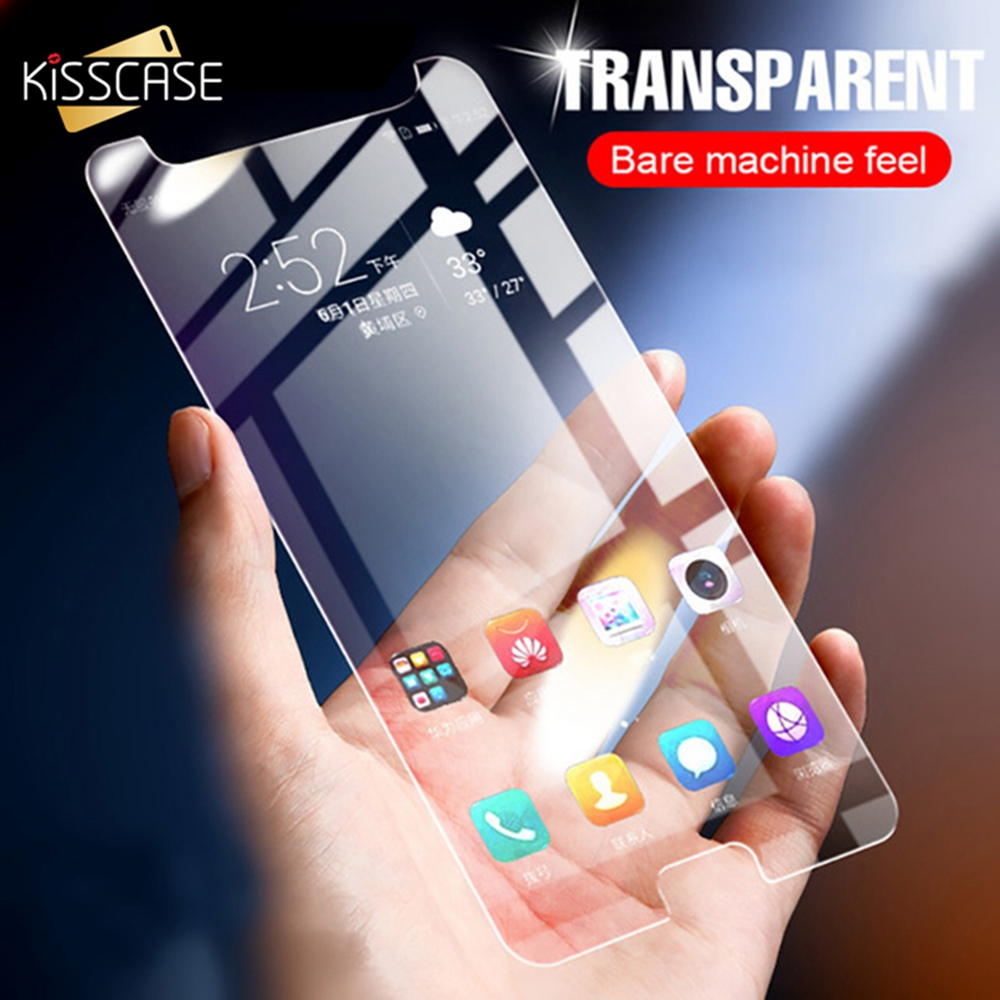 KISSCASE <font><b>Glass</b></font> On Phone For <font><b>Samsung</b></font> J3 J6 <font><b>J4</b></font> <font><b>2018</b></font> 2.5 D Film Protective Tempered <font><b>Glass</b></font> For <font><b>Samsung</b></font> J3 J7 2016 J5 J7 2017 EU image