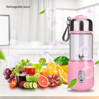 260mL USB Rechargeable Juicer Juice Extractor Fruit Baby Food Milkshake Smoothie Maker Vegetable Electric Juice Machine P42