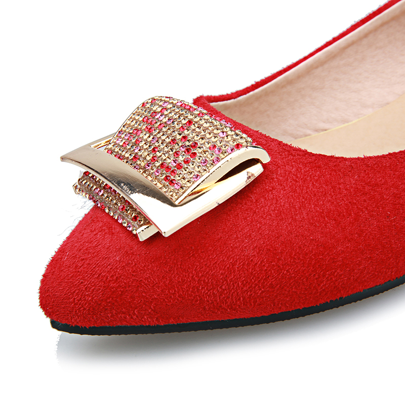 98f38de9cbe98 Flat Flats Chainingyee Pointed Metal Blue Black Toe Diamond Red Loafers  Women s Style Fashion In Big Sexy Sweet On Shoes ...