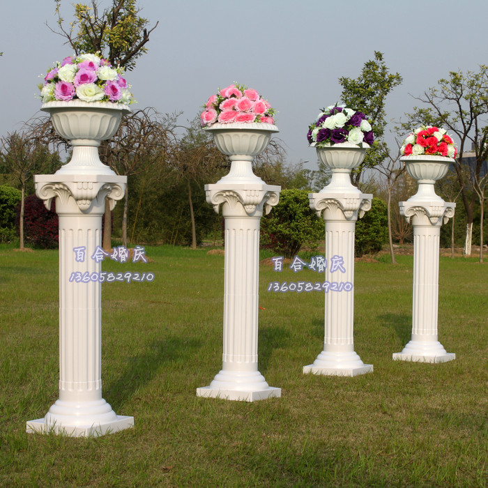 Wedding Altar Columns: 8pcs/lot Wedding Plastic Roman Column Fashion Roman Column