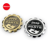 2017 New Willys Performance Parts 3D Metal Refit Car Auto Badge Emblem Sticker For Jeep Wrangler