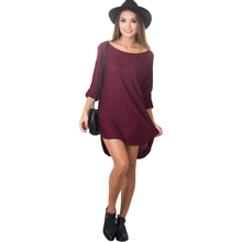 2017 Spring Irregular Night Club shirt Dress Loose Long Sleeve O Neck Sexy Casual Ladies Dresses Front Short Vestidos Mini Dress