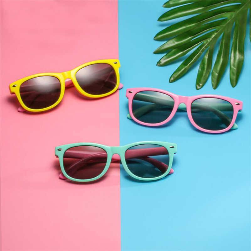 Поляризованные солнцезащитные очки для детей, для мальчиков и девочек, детские солнцезащитные очки для младенцев, 100% UV400 очки, детские оттенки, Oculos Infantil