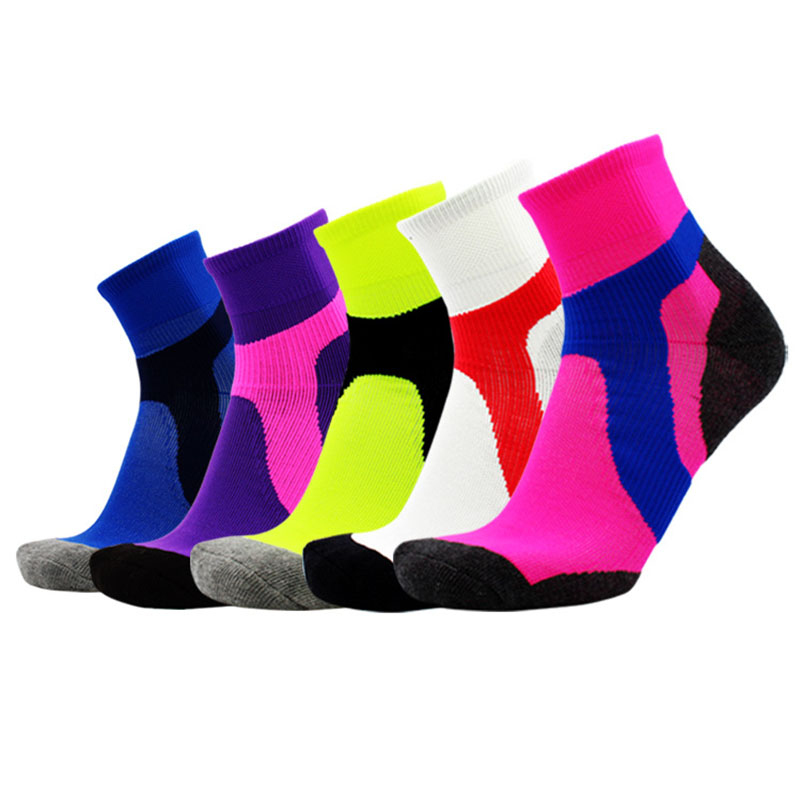 1pair Winter Thermal Ski Socks Cotton Spandex Sport Snowboard short Socks Wearable Thermosocks calcetines de ciclismo
