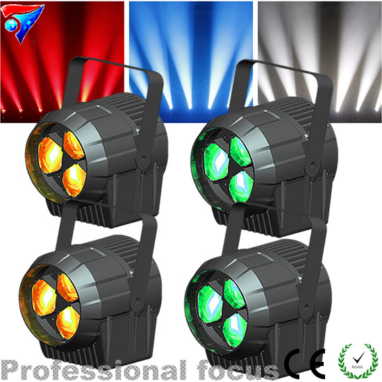 Free Shipping 4pcs/Lot 3*15W 4in1 LED Par Light Stage Effect For Stage KTV Party Pub Club