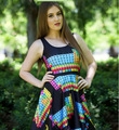 1202 Sexy Girl Women Summer periodic table chemistry 3D Prints Reversible Sleeveless Skater Pleated Dress plus size