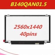 """1"""" QHD светодиодный экран ЖК-дисплей Панель B140QAN01.5 2560x1440"""