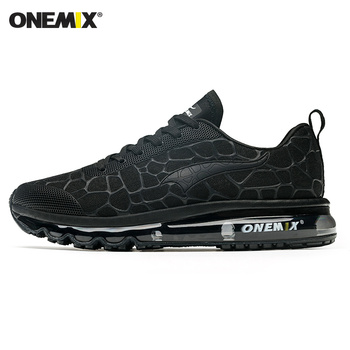 ONEMIX New Style Men Running Shoes Outdoor Leather Jogging Trekking Sneakers Summer Breathable Mesh Athletic Women Sport Shoes 13