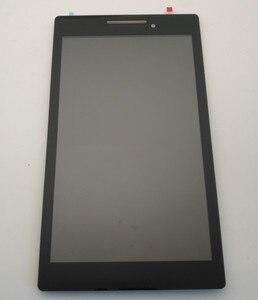 """Image 2 - 7.0 """"Voor Lenovo Tab 2 A7 10 A7 10 A7 10F A7 20 A7 20F Lcd scherm + Digitizer Vergadering Touch Met frame Vervangende Onderdelen"""