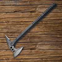 Outdoor Axe Wild Survival Tool Damask Woodworking Axe Fire Ice Army Tactical Fighting Tools