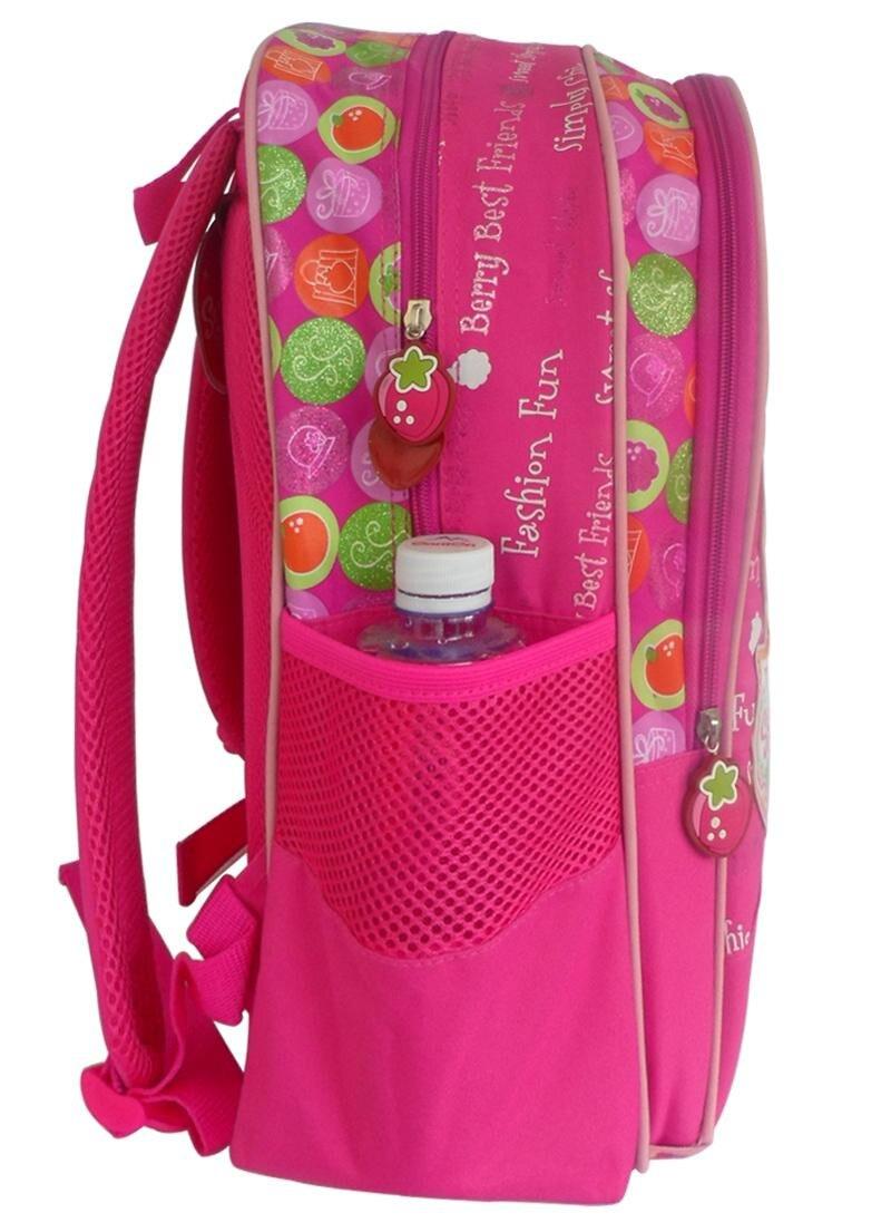 5ae8f4c4be Cute Strawberry Shortcake Pink Backpack Kids Schoolbag Rucksacks Children School  Bags Elementary School Backpacks for Girls-in School Bags from Luggage ...