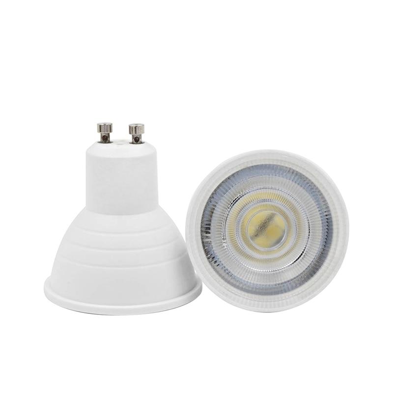 GU10 MR16 E27 E14 LED Spotlight Lampada 6W 220V 240V 24 120 Degree Lamp Energy Saving LED Bulb For Home Lighting Cold Warm White