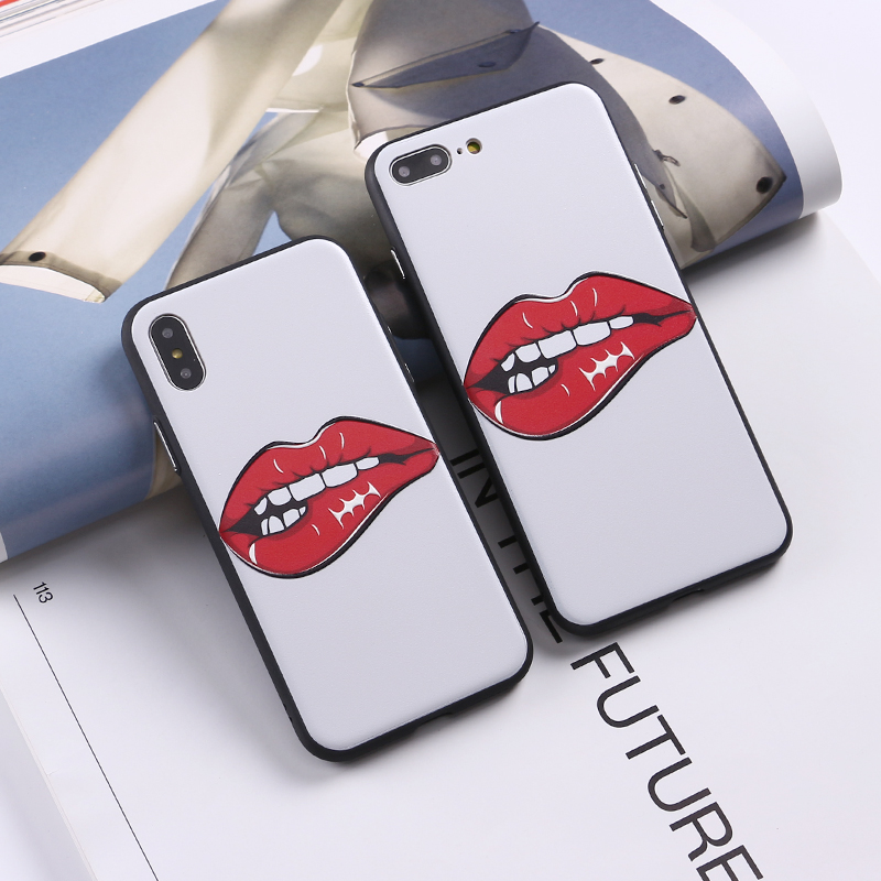 Popular Brand Tomocomo Sexy Hot Red Lips Legs Girl Summer On 3d Phone Case Coque Fundas For Iphone 7 7plus 6 6s 6plus 5s 8 8plus X Xs Max Phone Bags & Cases Half-wrapped Case