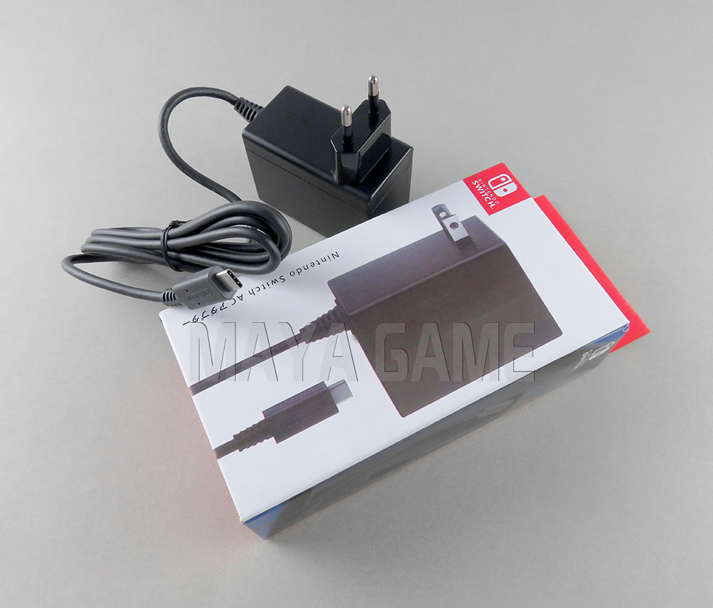 Original New For NS Switch AC Adapter US EU Plug Wall Home Travel Charger Power Supply For Nintend Switch Game Console