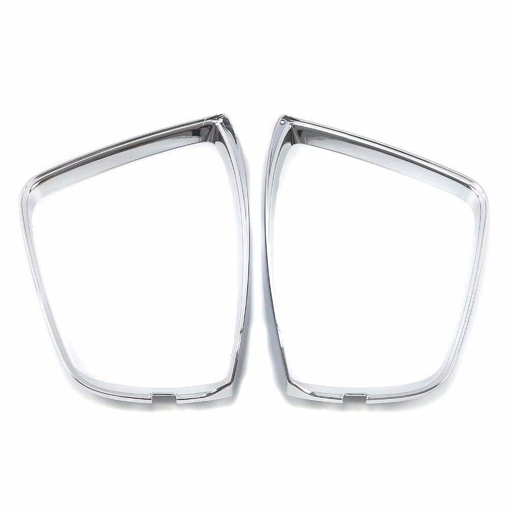 купить For Skoda Karoq 2017 2018 ABS Rearview Mirror Trim Side Wing Mirror Protector Strip Exterior Car Styling Accessory по цене 6799.07 рублей
