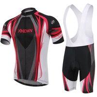 짧은 소매 사이클링 의류 남성 여성 자전거 승마 착용 로파 Ciclismo 자전거 3D 스테레오 쿠션 패드 바지 턱받이 L066