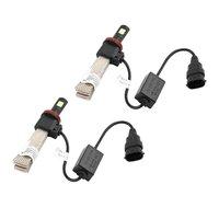 2Pcs Car LED Auto Headlight Bulb High Power Lights All In One Conversion Kit Super Bright
