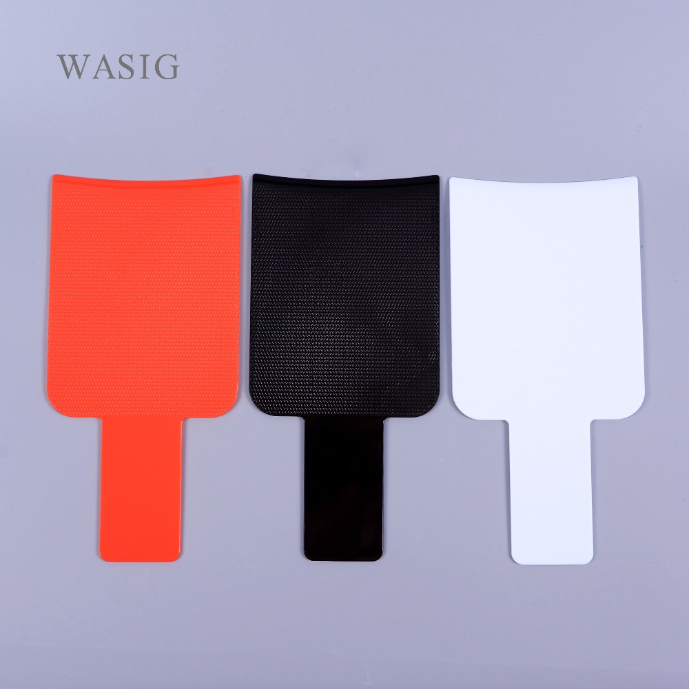 3 Colors Pro Salon Dyeing Brush Hair Coloring Dye Board Barber Hair Coloring Tool Tint Board Hairdressing Styling Accessories