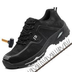 Для мужчин сезон: весна-лето легкие дышащие дезодорант защитная Рабочая обувь сталь безопасная обувь кепки защитная обувь нерушимой обувь