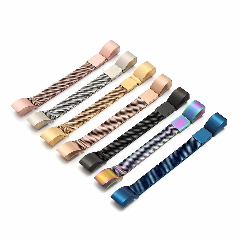 Fitbit Alta HR y Alta bandas de Metal Joyozy Milanese reemplazo de acero inoxidable accesorios de la banda de Metal para Fitbit alta pulsera