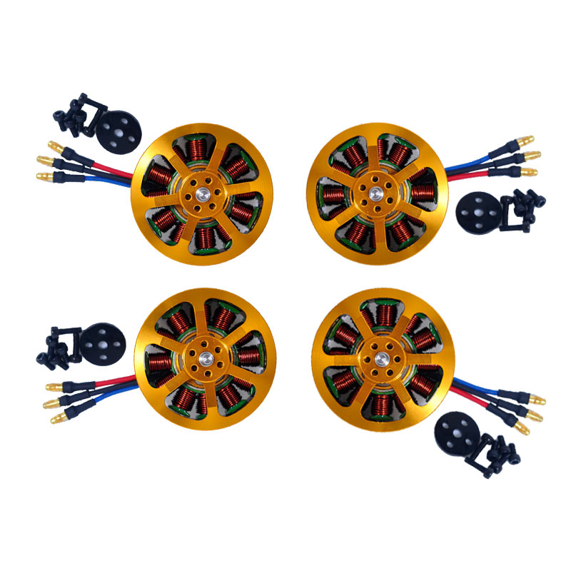 Image 2 - 1/4/6/8 pcs 5010 Brushless Motor KV340  For RC Airplane Plane Multi copter Brushless Outrunner Motor-in Parts & Accessories from Toys & Hobbies