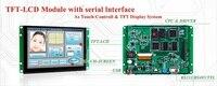 UART порт TFT ЖК модуль с 8 сенсорная панель + плата контроллера Поддержка любого MCU