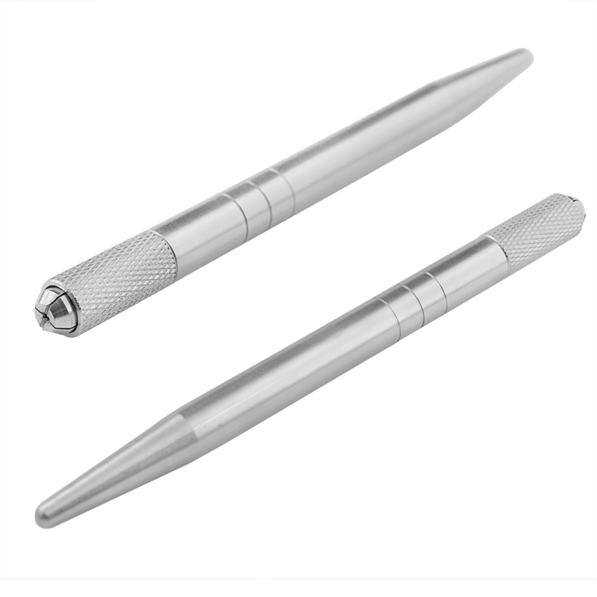 Tattoo kézi toll 10Pcs gép toll készlet szemöldök Microblading - Tetoválás és testmûvészet