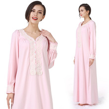 Pregnancy&maternity Nightgown Maternity Pajamas lace long Dress Sleepwear Pregnant Breastfeeding Elegant Nursing Clothes Pyjama