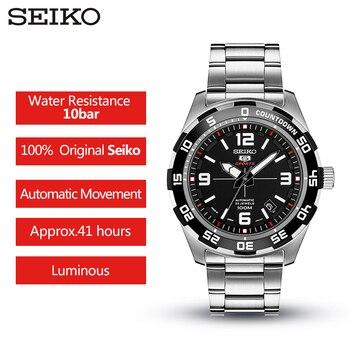 Reloj Automático Seiko | 100% Reloj Original SEIKO 5 Para Hombre, Relojes De Pulsera Mecánicos Automáticos Para Nadar, Garantía Global SRPB81J1 SRPB79J1 SRPB85J1
