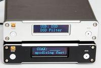 Готовые ES9038Q2M волокно коаксиальный XMOS208 USB вход, DAC декодер светодио дный экран HiFi ЦАП поддерживает DSD 2019 Новый