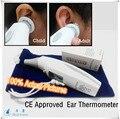 Eletrônico LCD termômetro infravermelho corpo para as crianças sem contato febre medical Digital termômetro de orelha Gun para o bebê