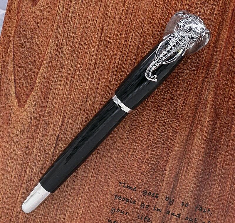Black Color Writing Signature Pen Fuliwen Elephant Head Rollerball Pen