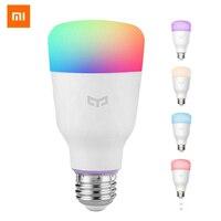Yeelight-bombilla LED inteligente RGB, lámpara colorida E27, 10W, 800 lúmenes, Xiaomi Mijia, Control remoto por WiFi