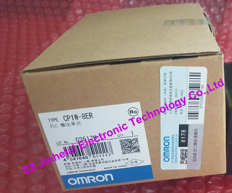 CP1W-8ER  OMRON New and original  PLC CONTROLLER   OUTPUT UNIT 100% new and original cj1w nc433 omron position control unit