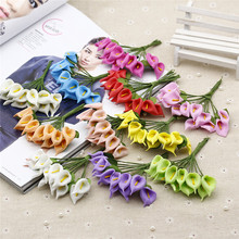 mix color EVA Promise to spend Bouquet/wire stem/wedding flower Free shipping (108pcs/Lot)
