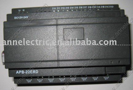 PLC module APB-22EGD,DC12V-24V,14 points digital input,8 point NPN transistor output цена